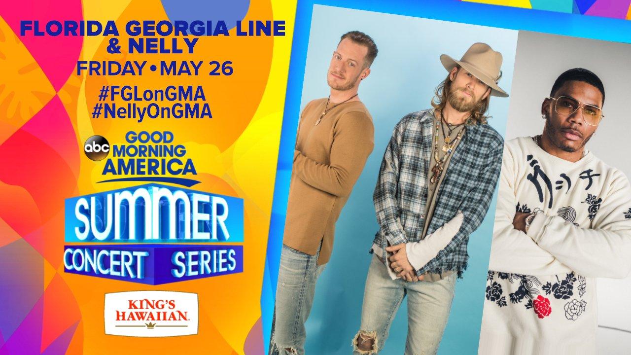 Florida Georgia Line / #FGLonGMA