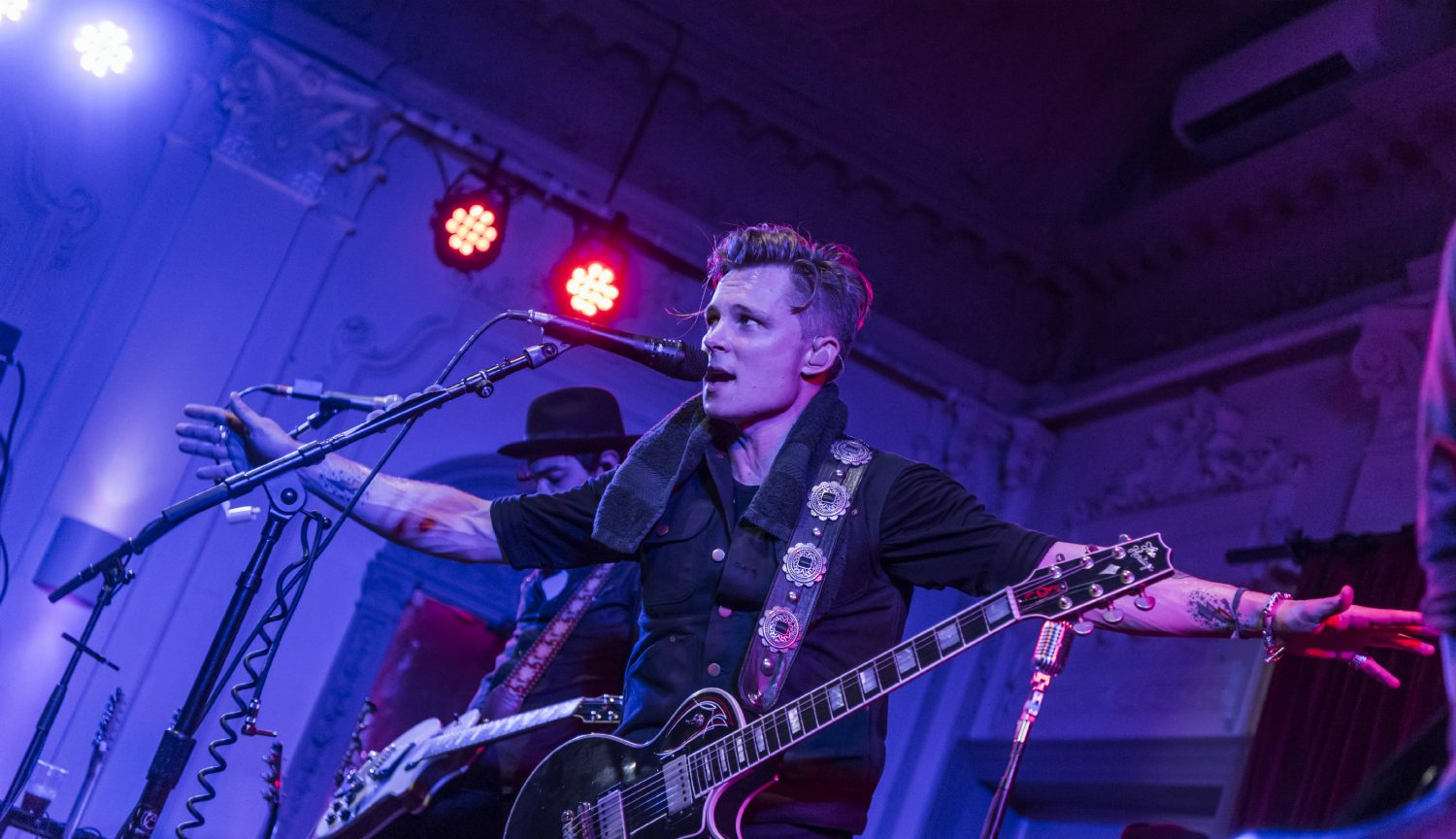 Frankie Ballard live at Bush Hall in London, UK on 13 October 2016. Photo by: Carsten Windhorst / Courtesy of Shorefire Media.