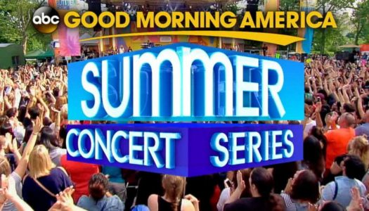 The Lineup for the 2017 GMA Summer Concert Series Is Out