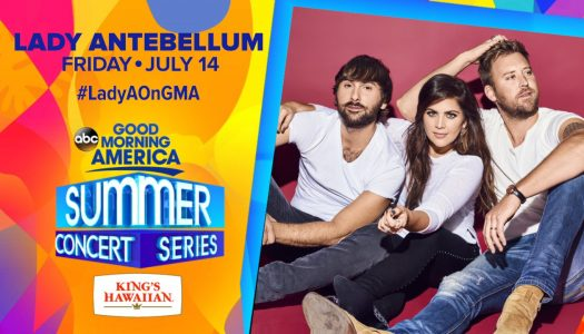 Lady Antebellum – GMA in Central Park