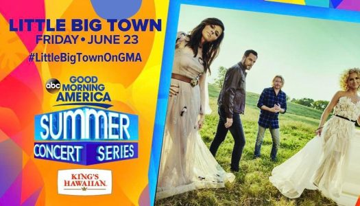 Little Big Town – GMA in Central Park