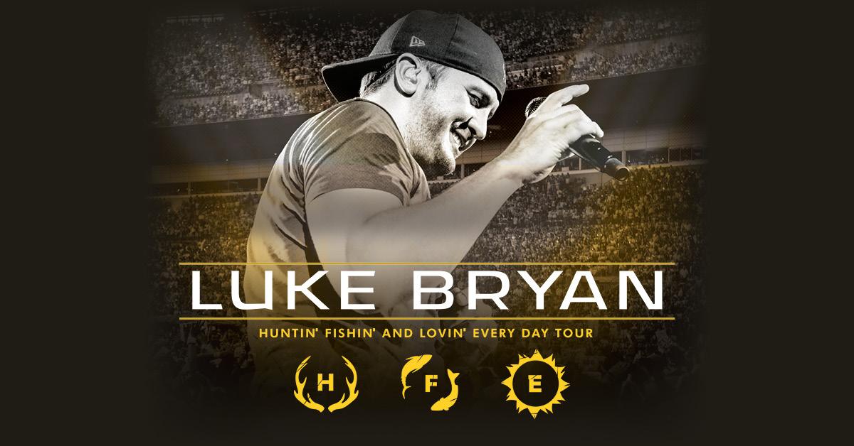 Luke Bryan 2017 Huntin' Fishin' and Lovin' Everyday Tour