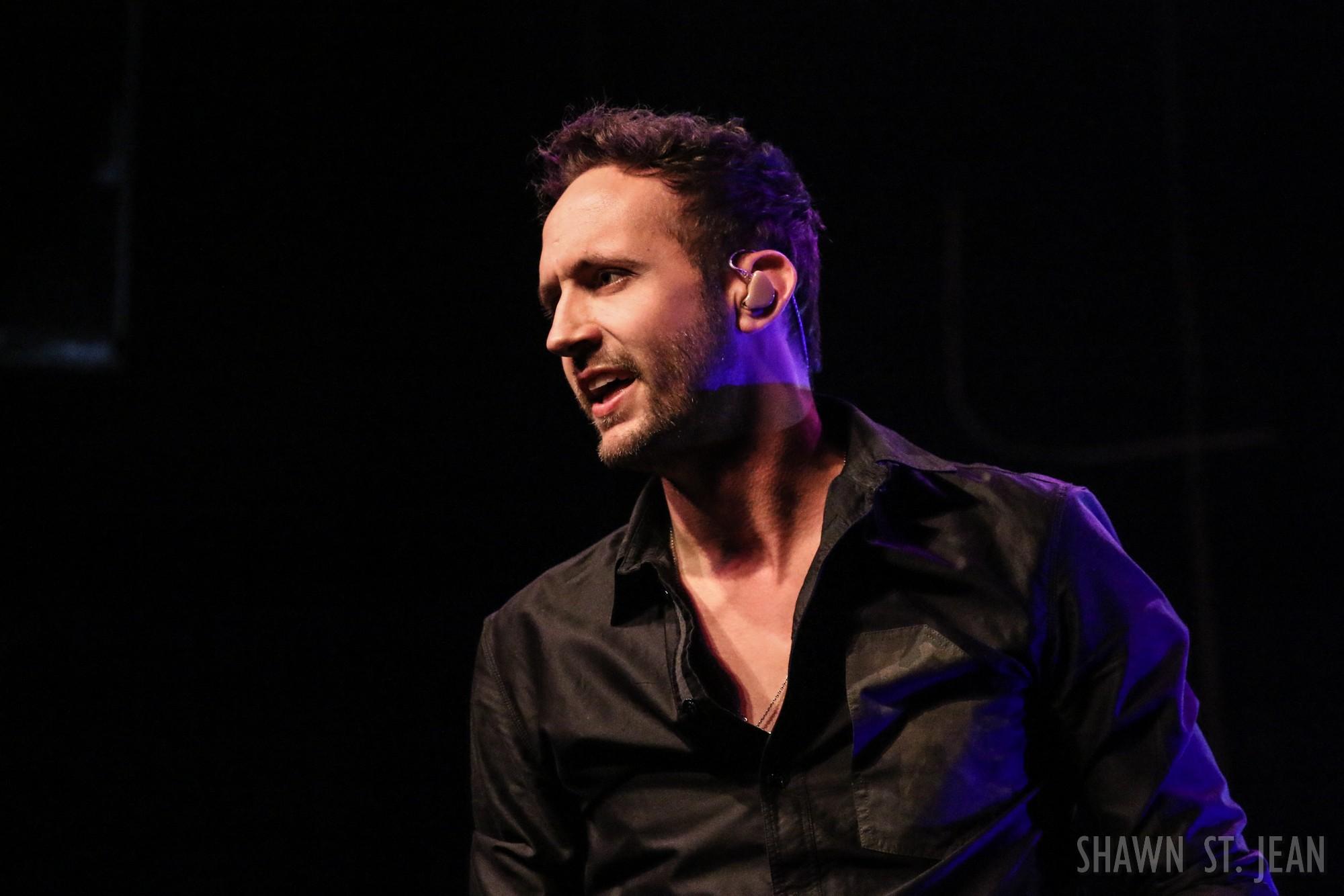 Drew Baldridge at Gramercy Theatre on May 12, 2017 / Photo by Shawn St. Jean.