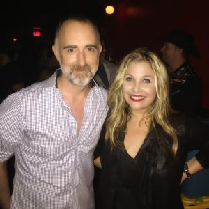 The Country Scene's Shawn St. Jean with Sunny Sweeney at NYC's Rockwood Music Hall