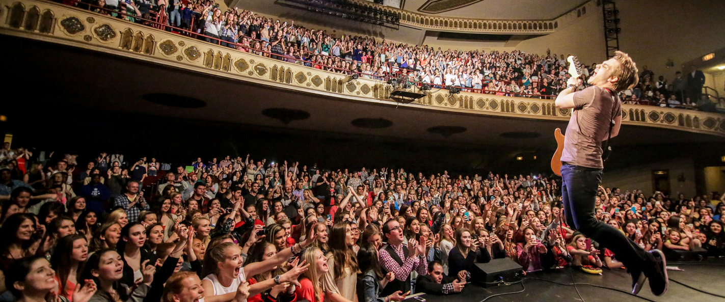 Hunter Hayes in Stamford CT on May 9, 2014. Photo courtesy of the Palace Theatre.