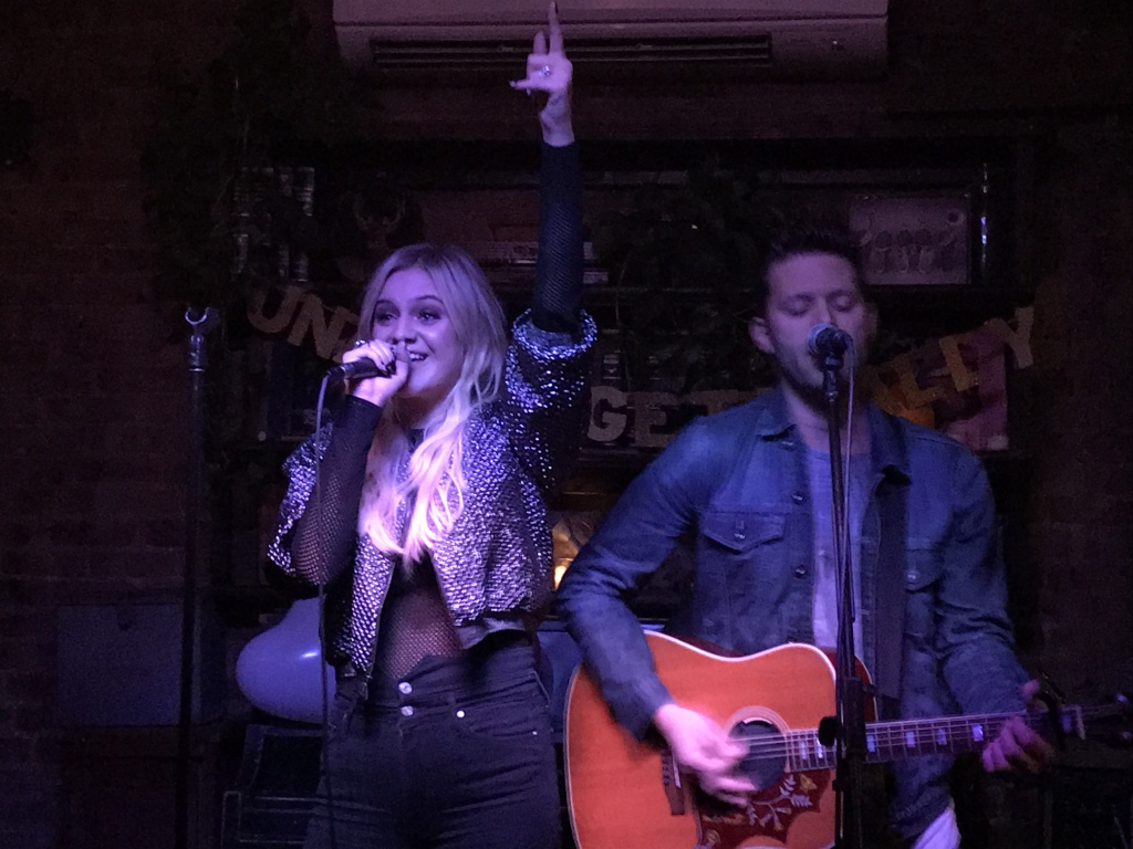 Kelsea Ballerini at The Wayland on November 2, 2017 / Photo by Karyn Alfini