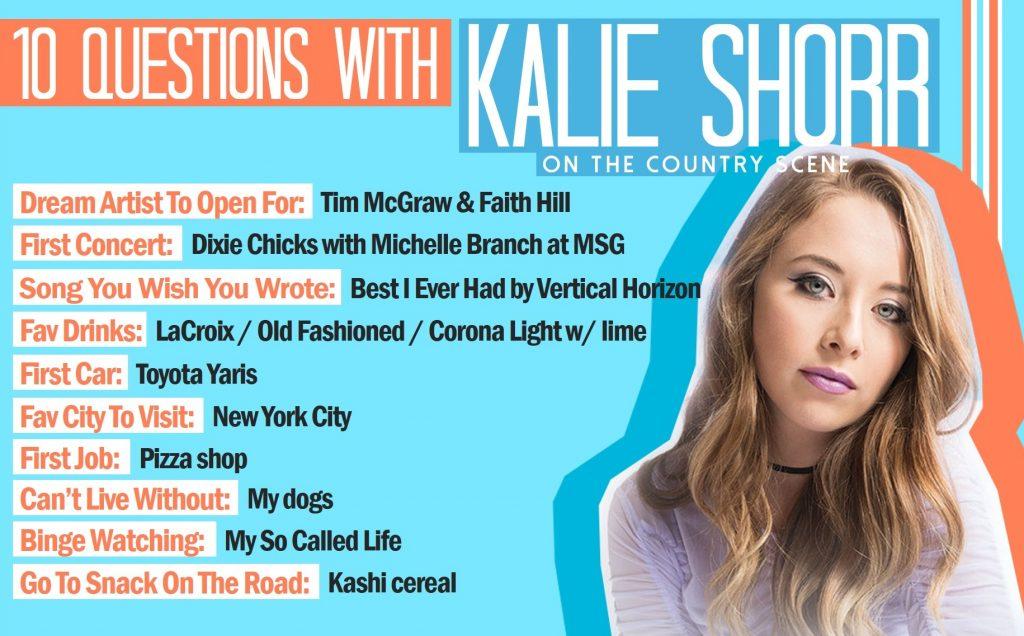 Ten Questions With Kalie Shorr