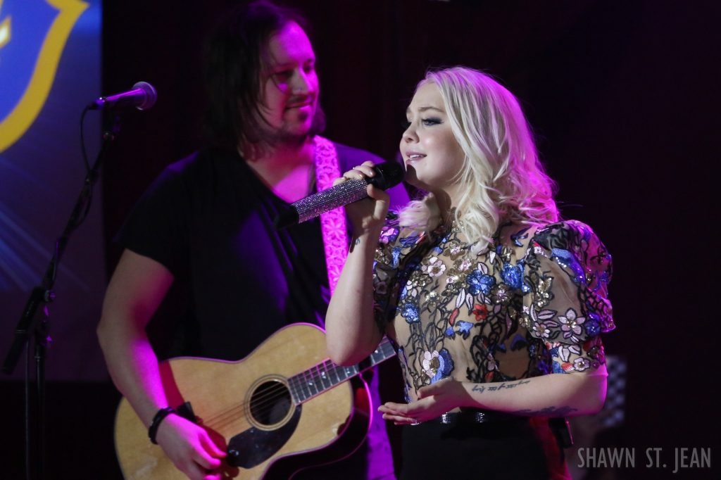 RaeLynn in NYC on February 12, 2018 / Photo by Shawn St. Jean