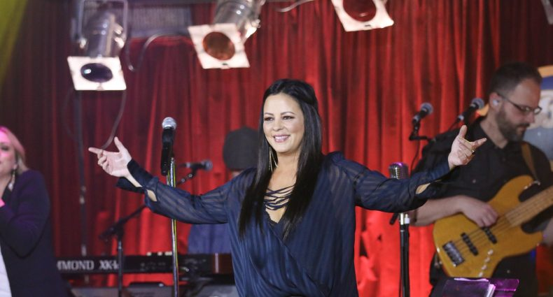 Sara Evans in NYC on February 12, 2018 / Photo by Shawn St. Jean