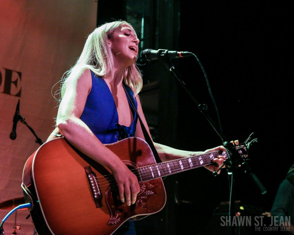 Ashley Monroe at Rough Trade NYC April 24, 2018 / Photo by Shawn St. Jean