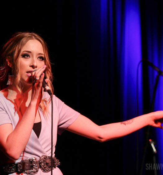 Kalie Shorr at The Stamford Palace Theatre on April 27, 2018 / Photo by Shawn St. Jean