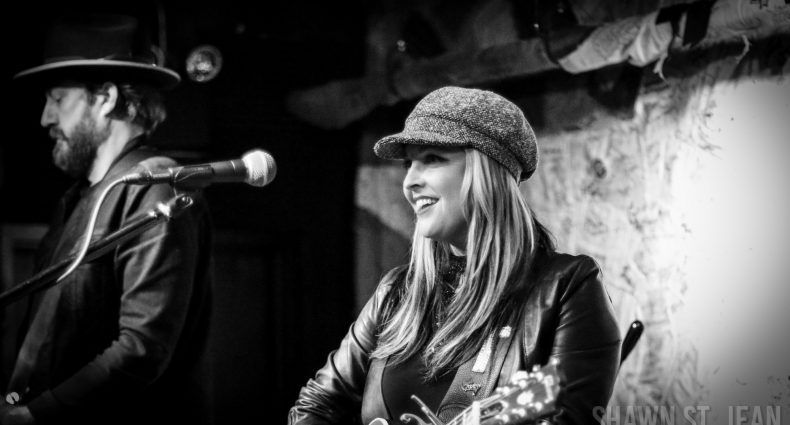 Sunny Sweeney at Hill Country BBQ in NYC on April 7, 2018 / Photo by Shawn St. Jean