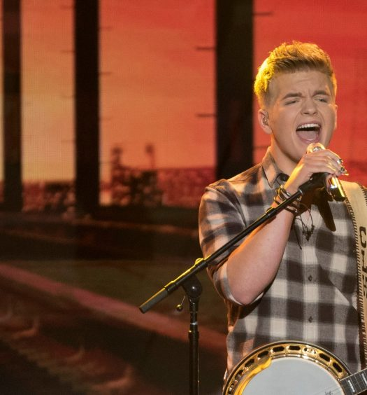 Caleb Lee Hutchinson, April 22, 2018. Photo courtesy of ABC / American Idol.