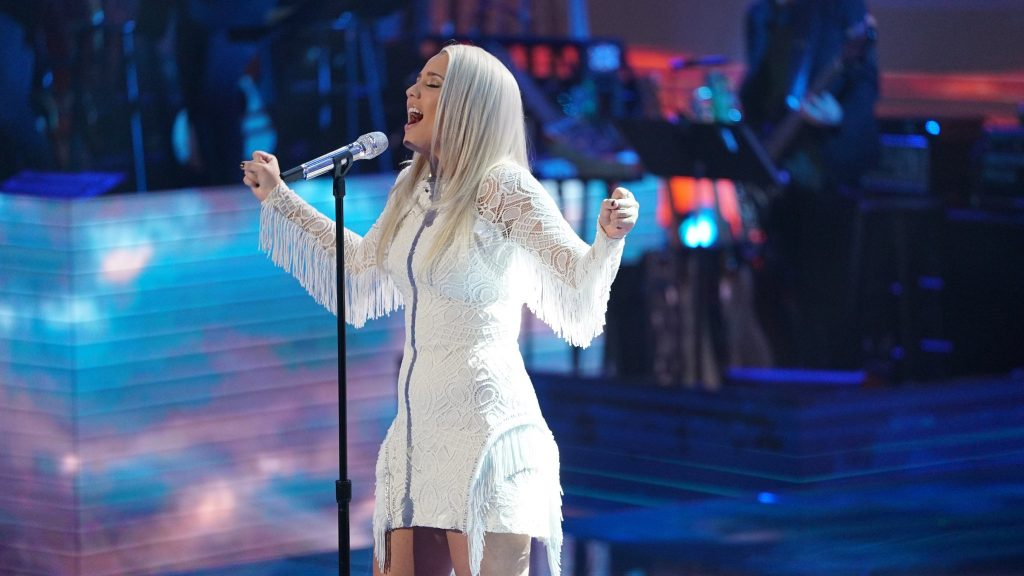 Gabby Barrett, April 22, 2018. Photo courtesy of ABC / American Idol.
