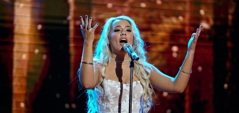 Gabby Barrett, April 29, 2018. Photo courtesy of ABC / American Idol.
