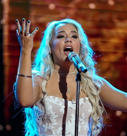 Gabby Barrett, April 29, 2018. Photo courtesy of ABC / American Idol.