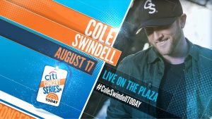 Cole Swindell: The TODAY Show 2018 Citi Concert Series