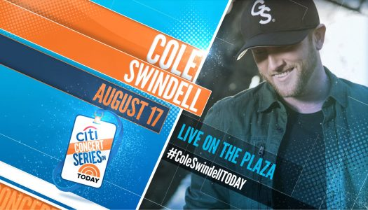 Cole Swindell – TODAY Show Plaza