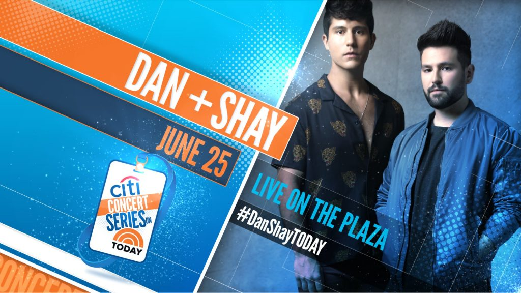 Dan + Shay: The TODAY Show 2018 Citi Concert Series