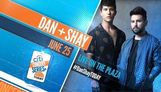 Dan + Shay – TODAY Show Plaza