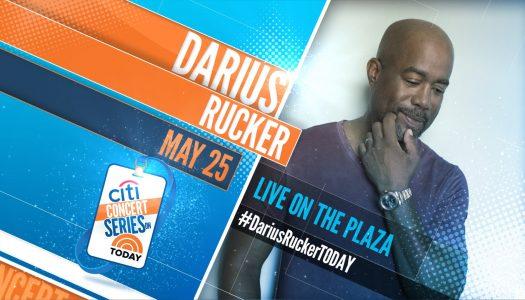 Darius Rucker – TODAY Show Plaza