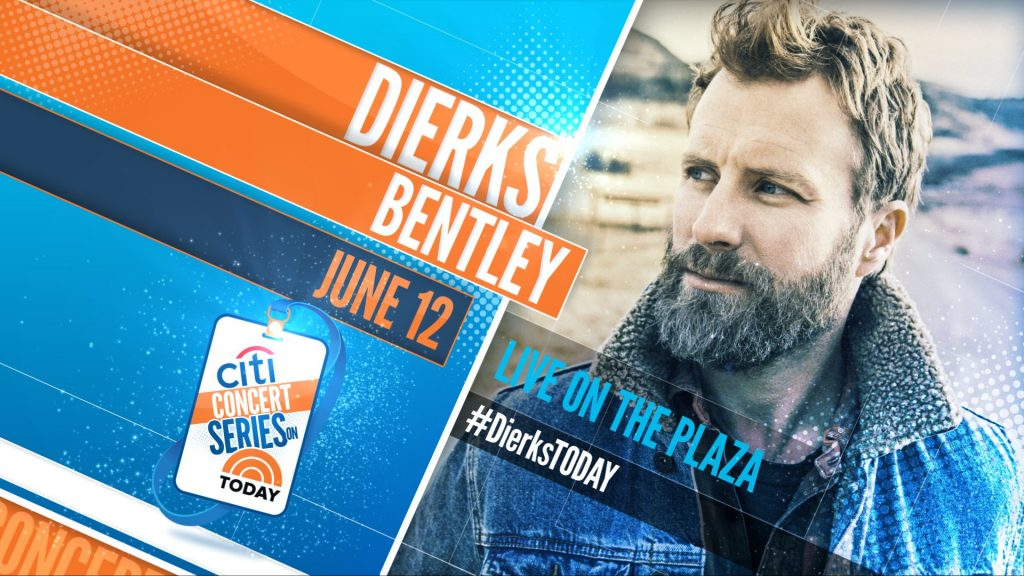 Dierks Bentley: The TODAY Show 2018 Citi Concert Series