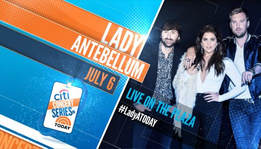 Lady Antebellum – TODAY Show Plaza