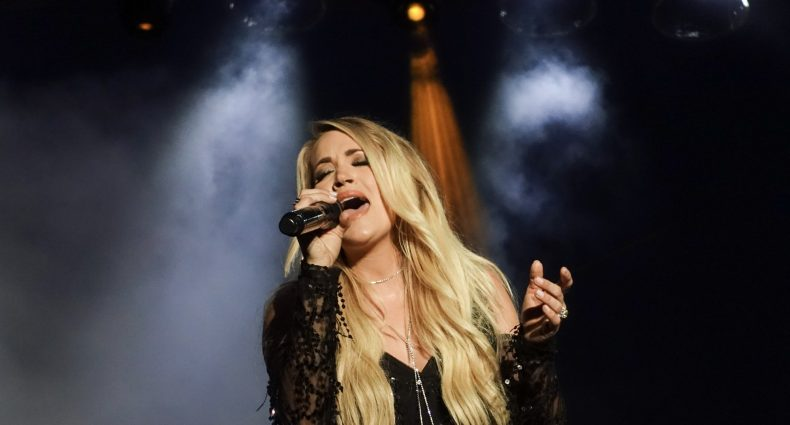Carrie Underwood in NYC on July 4, 2018 / Photo by Shawn St. Jean