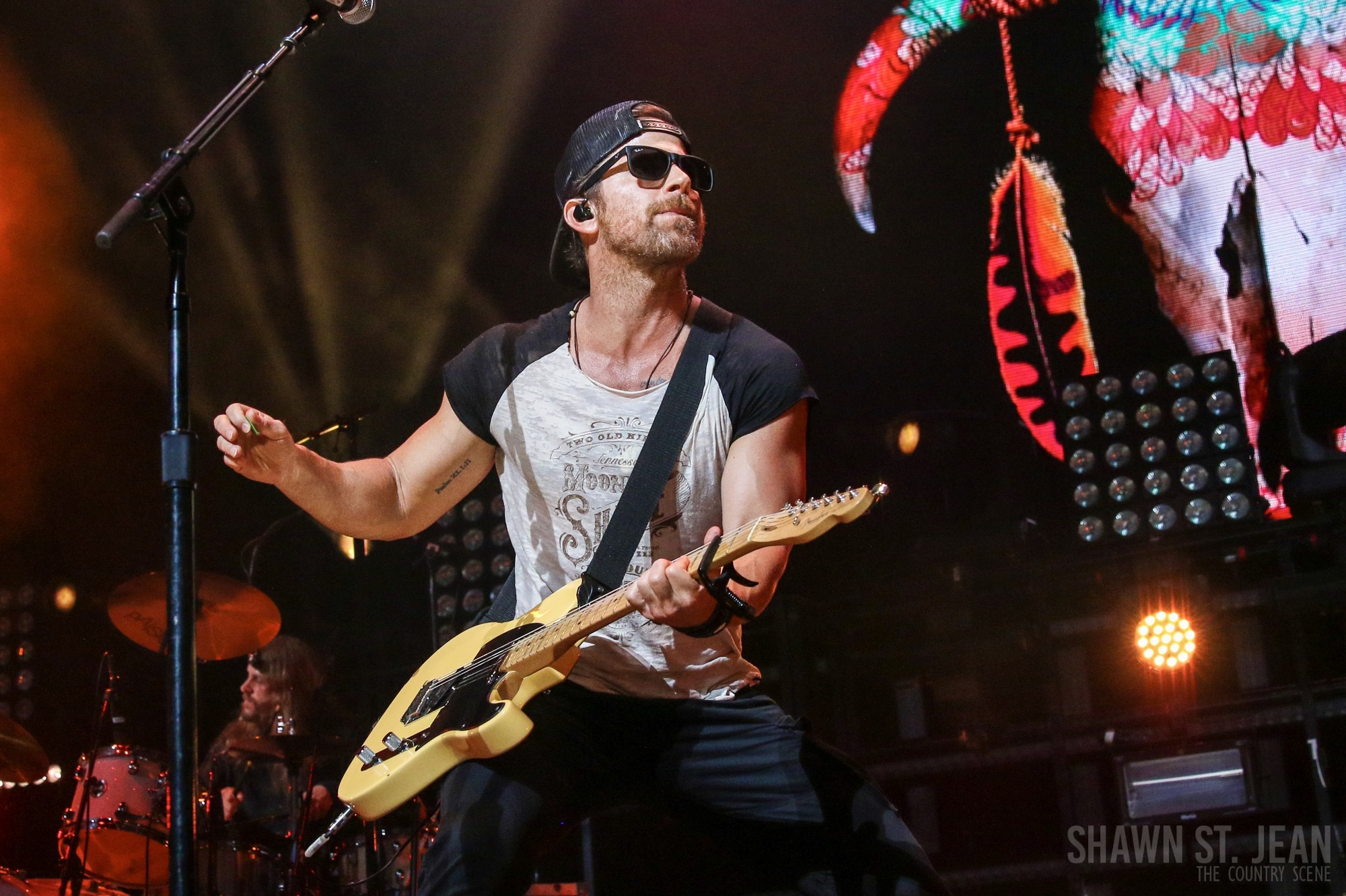 Kip Moore in Hartford CT on June 29, 2018. Photo by Shawn St. Jean.