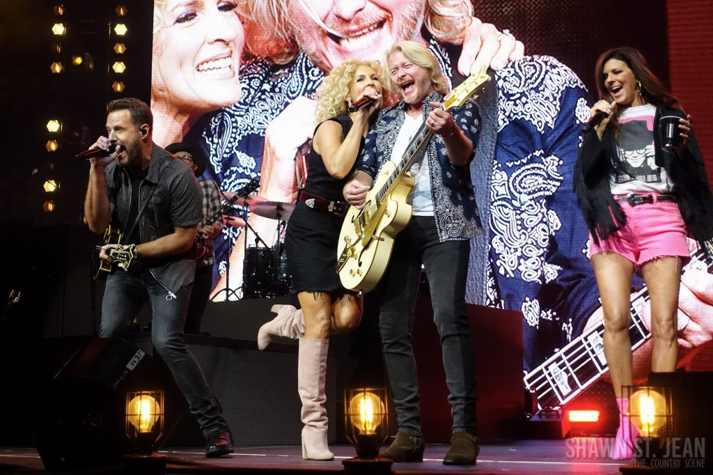 Little Big Town in Hartford CT on July 20, 2018 / Photo by Shawn St. Jean