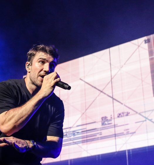 Sam Hunt in Hartford CT on June 29, 2018. Photo by Shawn St. Jean.