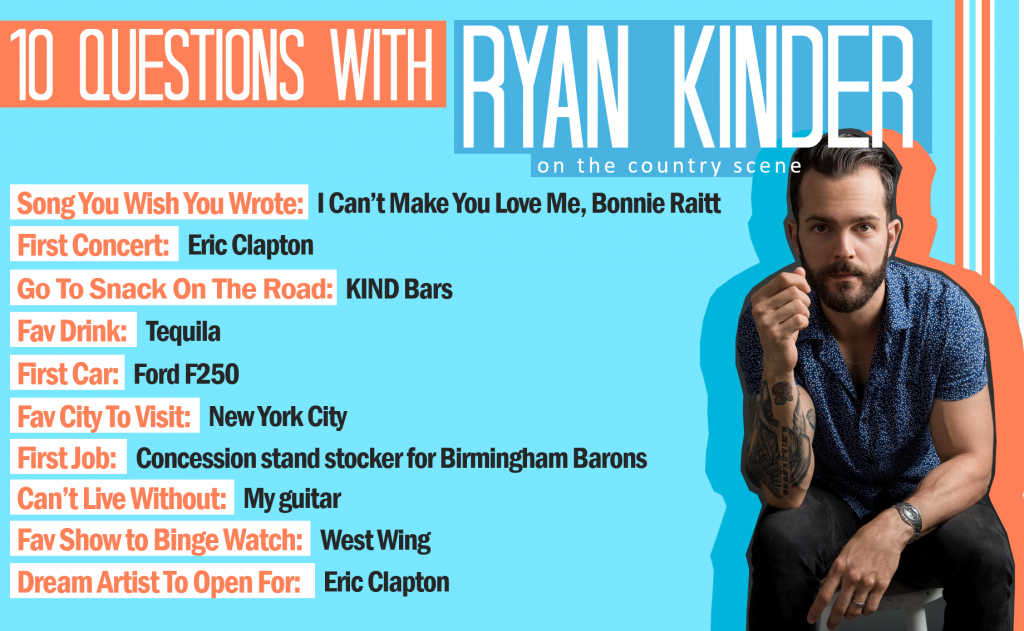 Ten Questions With Ryan Kinder