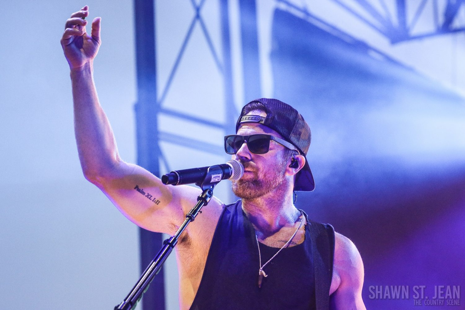 Kip Moore in Rhinebeck NY, August 24, 2018 / Photo by Shawn St. Jean