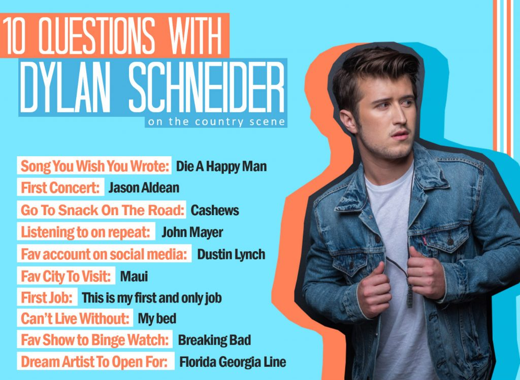 10 Questions With Dylan Schneider