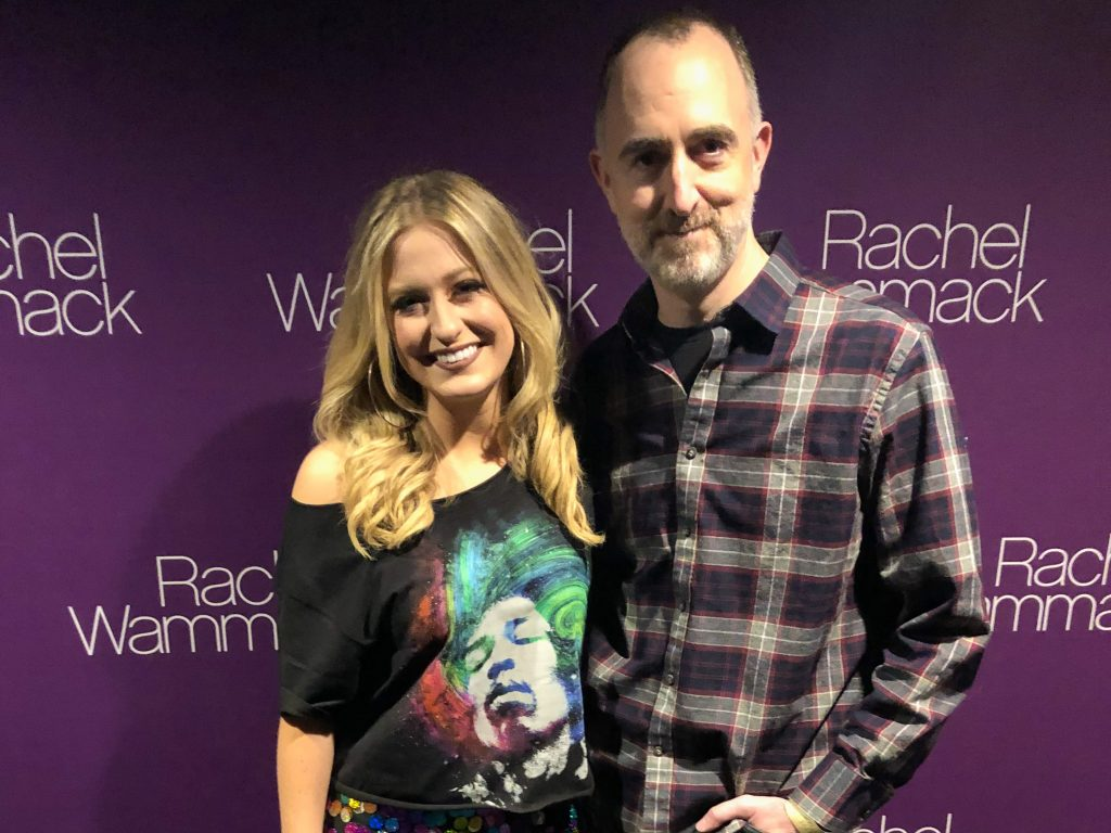Rachel Wammack with The Country Scene's Shawn St. Jean in NYC on December 9, 2018.