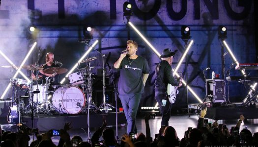 Brett Young Heats Up Times Square On The Here Tonight Tour