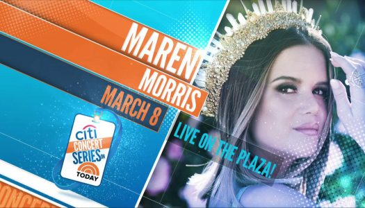 Maren Morris – TODAY Show Plaza
