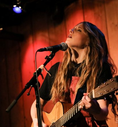 Emily Hackett at Rockwood Music Hall, March 18, 2019 / Photo by Shawn St. Jean