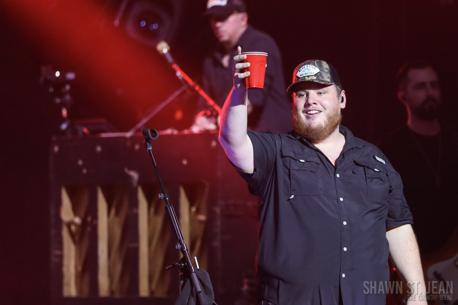 Luke Combs at Hammerstein Ballroom on Feb 28, 2019 / Photo by Shawn St. Jean