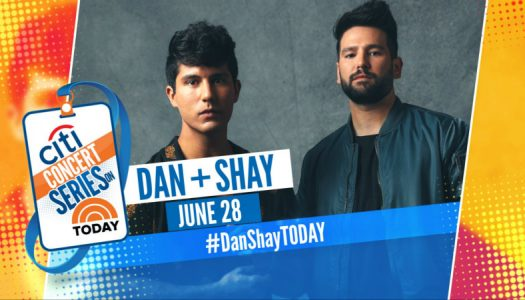 Dan + Shay – TODAY Show Plaza
