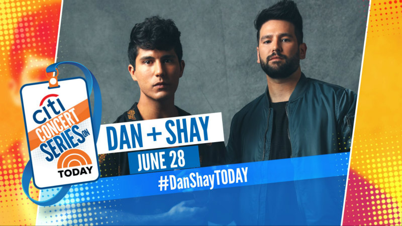 Dan + Shay: The TODAY Show 2019 Citi Concert Series