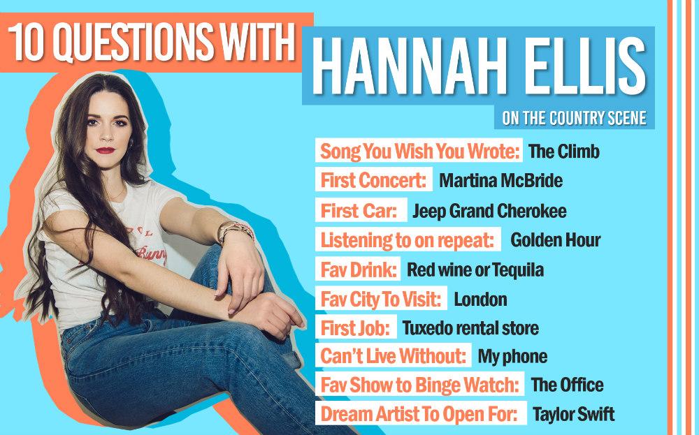 Hannah Ellis 10 Questions