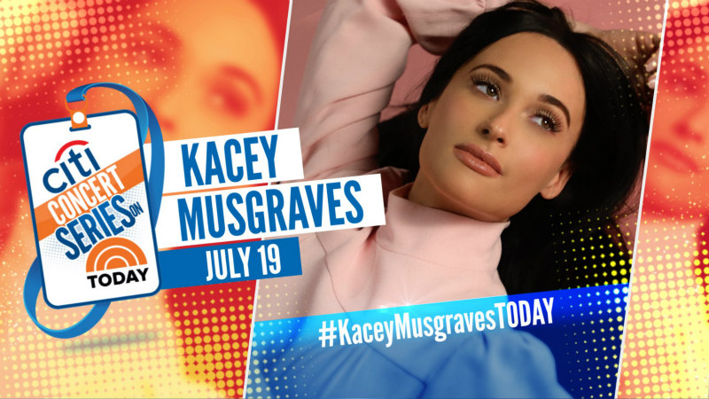 Kacey Musgraves: The TODAY Show 2019 Citi Concert Series