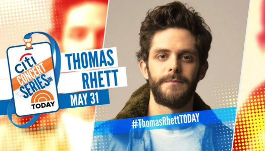Thomas Rhett – TODAY Show Plaza