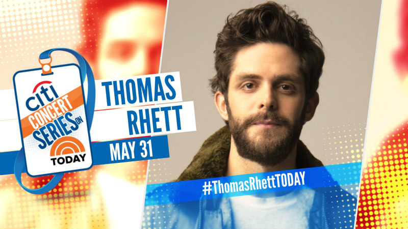 Thomas Rhett: The TODAY Show 2019 Citi Concert Series