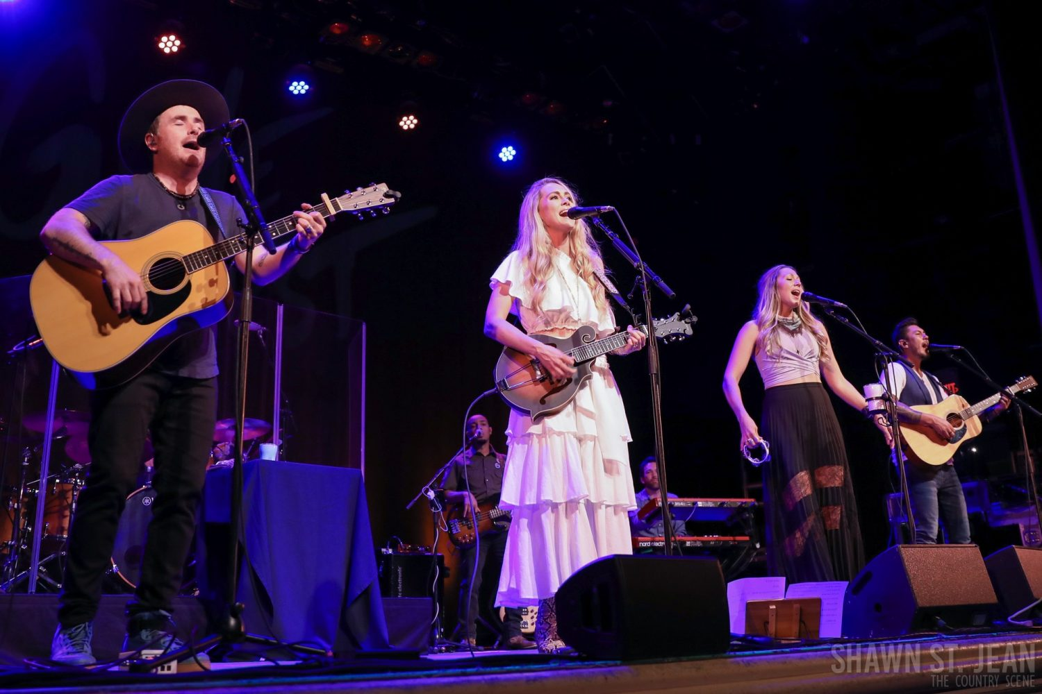 Gone West at the Ridgefield Playhouse, July 5, 2019 / Photo by Shawn St. Jean