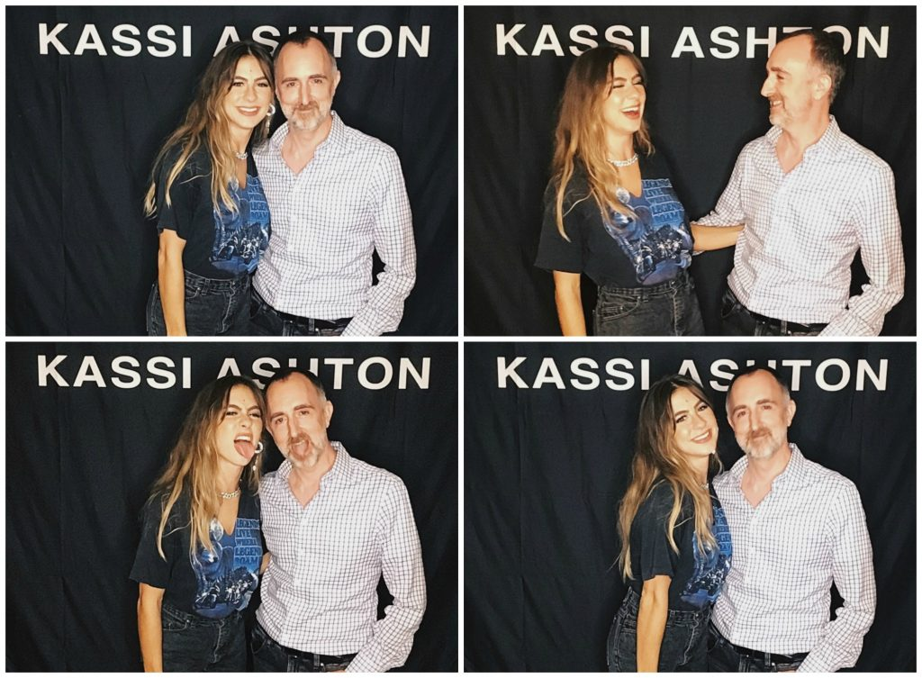 Kassi Ashton with The Country Scene's Shawn St. Jean at Radio City Music Hall, September 6, 2019.