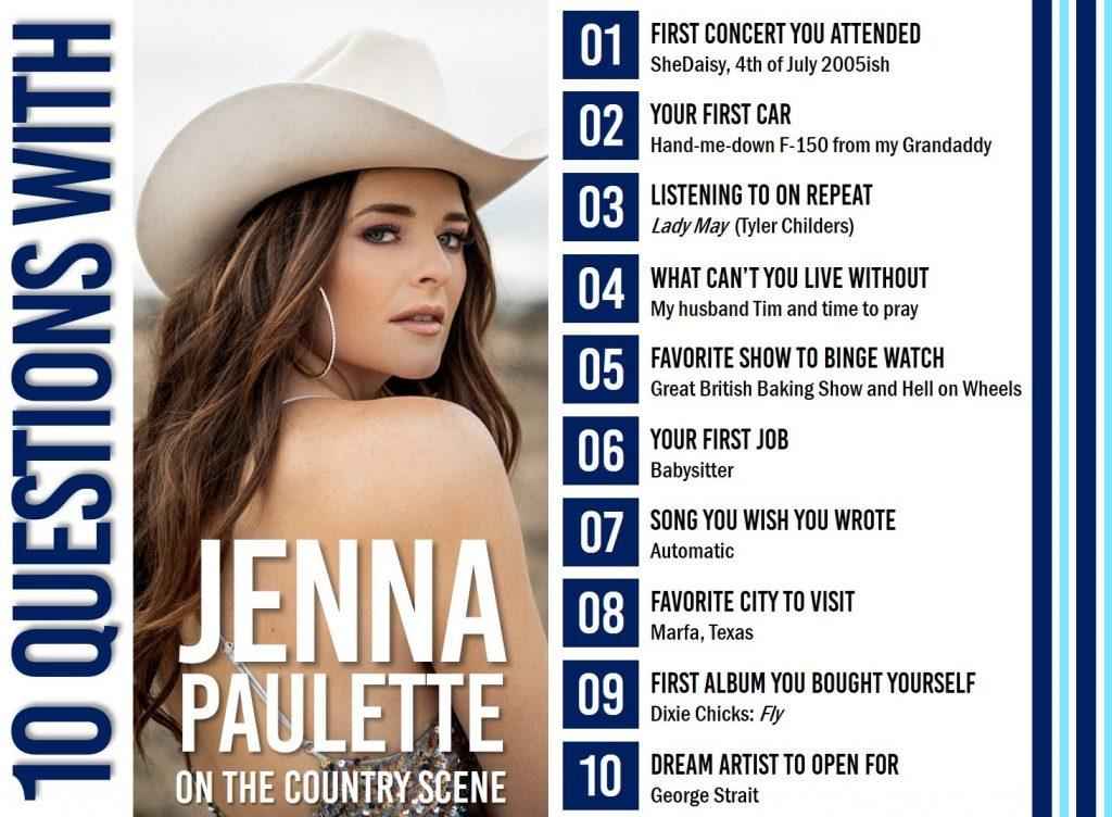 Jenna Paulette 10 Questions