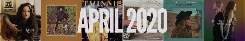 April 2020 New Country Album Releases