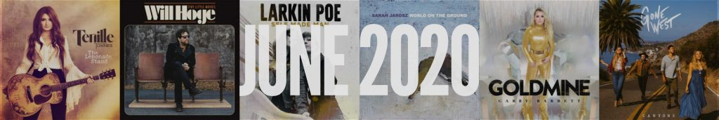 June 2020 New Country Album Releases